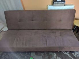 ideal brown sofa bed for small living room