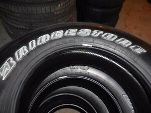 4 -P255/70R18 112 M/S BRIDGESTONE DUELER A/T NEW TAKE OFFS