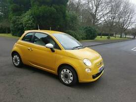"2013 - FIAT 500 COLOUR THOROPY ""LOW MILLAGE ONLY 5700 MILES "" 3 MONTH'S WARRANTY"