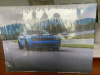 Dodge hellcat car picture canvas (brand new)