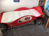 Children's Haani Speed Racer Bed - fits a full sized single mattress
