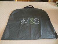 M&S plastic suit carrier