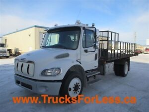 2007 Freightliner M2106, CARGOKING 16 Ft ROLL-OFF DECK!!!