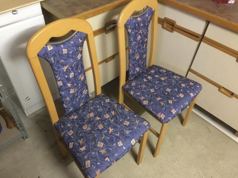 2 polsterst hle sehr gut erhalten in harburg hamburg sinstorf st hle gebraucht kaufen. Black Bedroom Furniture Sets. Home Design Ideas