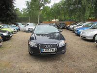 AUDI A4 AUTO ESTATE 2.0 PETROL 2 FORMER KEEPERS HPI CLEAR WARRANTED MILEAGE FREE 3 MONTHS WARRANTY