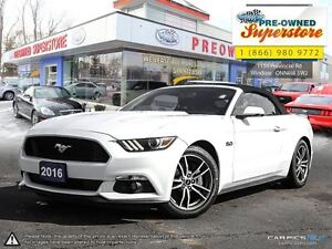 2016 Ford Mustang GT Premium >>> Leather, 5 Spoke Rims, NAV