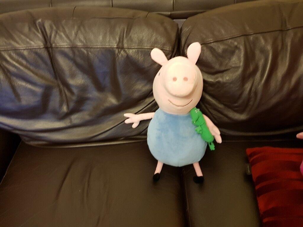 Peppa Pig George soft toy