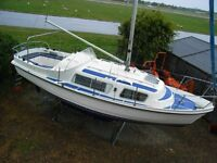 CABIN CRUISER 28' MOTOR BOAT SAILOR. MAY PX OR SWAP MOST THINGS CONSIDERED W.H.Y.