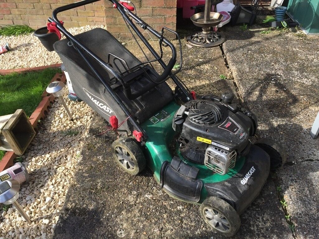 Qualcast Petrol Mowers Spare Parts Zenith Tca2 Carburetor Float Exploded Diagram Faulty Lawnmower For Spares Or Repairs Lawn Mower 46cm
