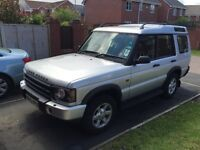 53 plate Landrover Diiscovery 2 TD5