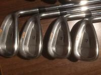 Taylormade 360 xd irons & ping g5 driver