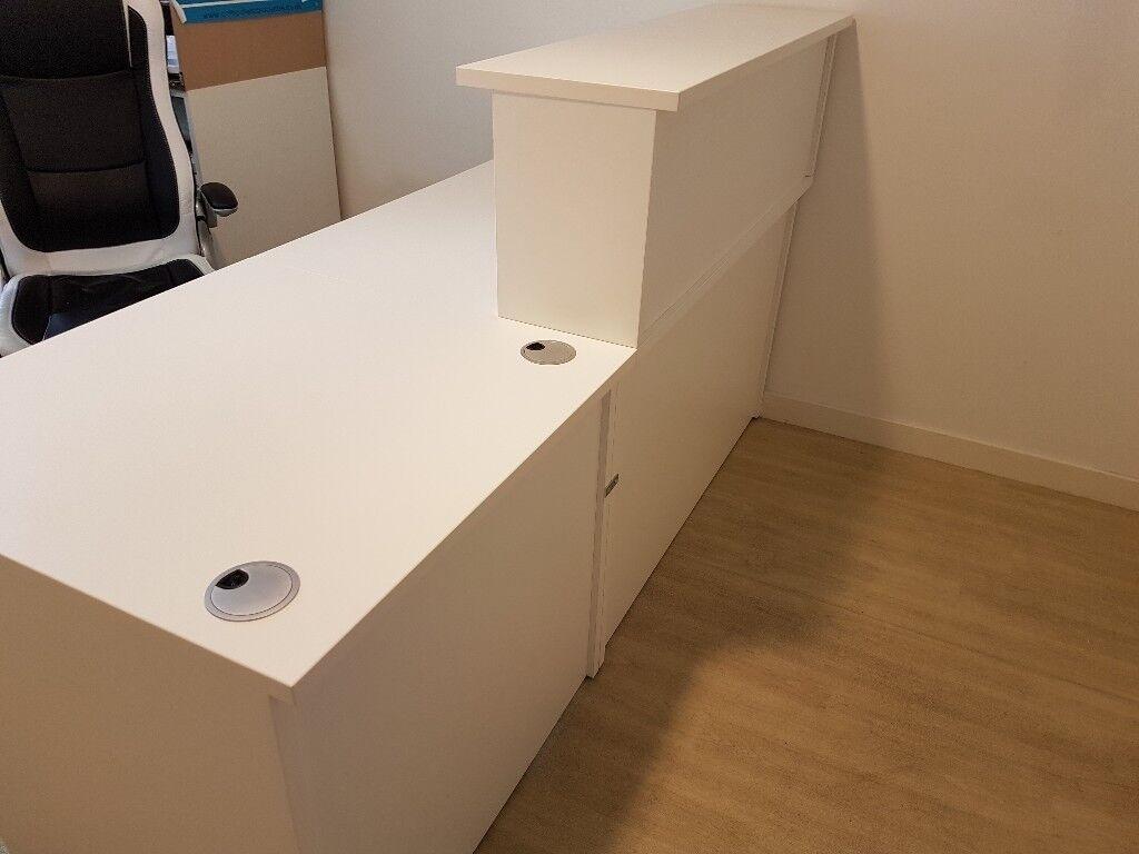 Perfect Condition Reception Counter Desk 9 10