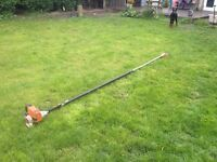 Stihl ht131 long reach chainsaw hedge trimmer extra long