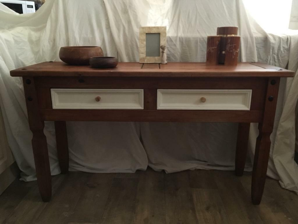 CORONA Mexican pine sideboard CONSOLE TABLE dressing table SHABBY CHIC