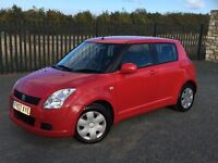 2007 07 SUZUKI SWIFT 1.3 GL 5 DOOR HATCHBACK - ONLY 1 FORMER KEEPER FROM NEW - *APRIL 2017 M.O.T*