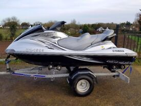 Yamaha Waverunner FX160 High Output Cruiser with only 19 hours!