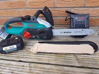 BOSCH AKE 30, 36v chainsaw li-ion ,NO battery,NO charger. UNUSED