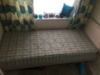 "2ft6"" x 6ft single bed with mattress"