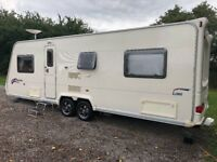2008 Bailey Pageant 6 berth fixed bed twin axle