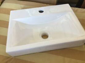 White sink - unused