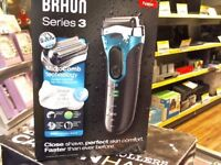 BRAUN SEIES 3 SHAVE ET AND DRY