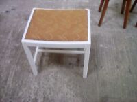 Dressing table stool, stool, piano stool