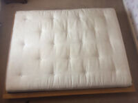 Kingsize platform bed from the Futon Company