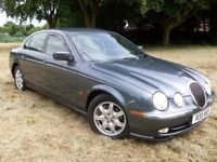 @@STUNNING LOW LOW MILES JAGUAR S TYPE 3L V6 (RARE MANUAL)PRIVATE PLATE,,SO MUCH SPENT,TO KEEP 100%@
