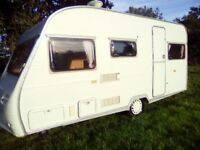Avondale sport 5 berth 1995 light weight caravan cris regasted full awning no damp