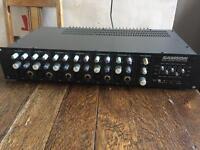 Samson sx6 mixer amp