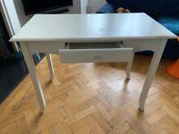 Desk or dressing table - white