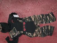 Boys Camouflage Ninja Costume -size Eur 104cm ;4-5yrs -£8.5