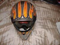 motocross helmet large as new g max