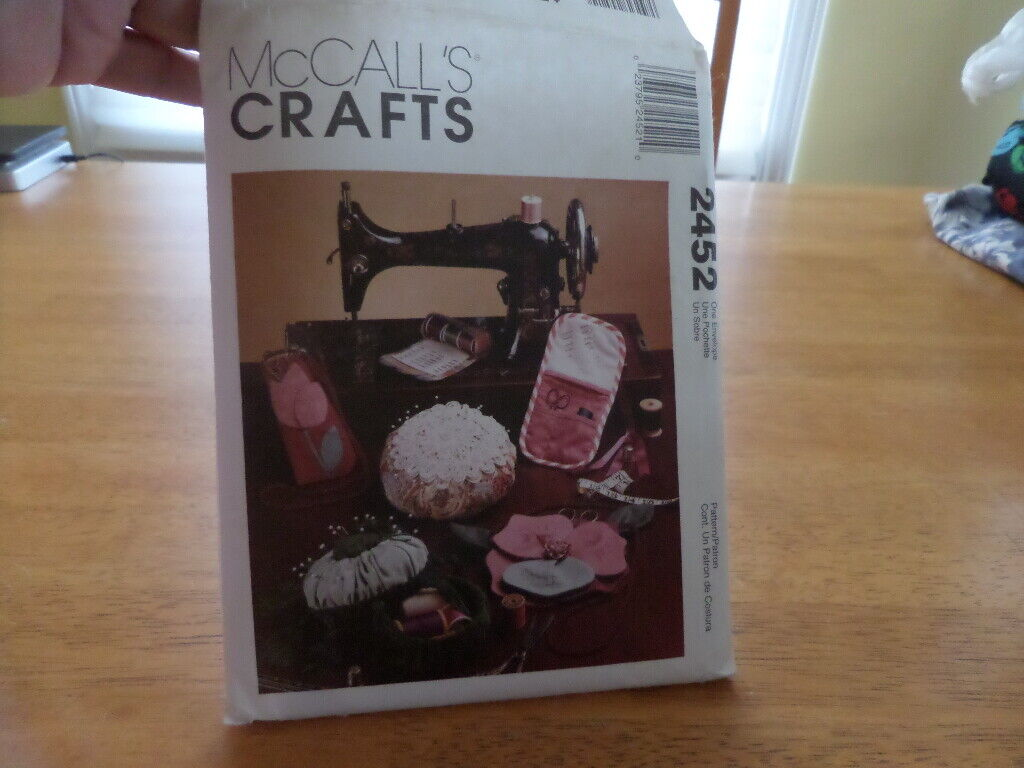 McCall s Pattern 2452 - Sewing Accessories - UNCUT - New Old Stock Vintage - $3.99