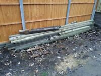 Decking boards and spindles