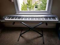 MIDI Keyboard (+ stand, pedal & USB wire)