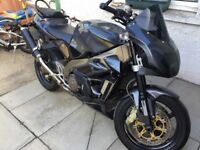 Aprilia Tuono Gen 1, first edition with loads of extras.