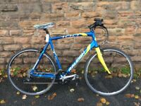 Raleigh 100 Super Light Rocket Custom Road Hybrid Bike XL - SERVICED