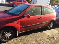 ford focus's breaking for parts