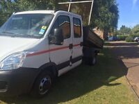 2007 Iveco daily tipper 12 months MOT Good driver seven seater good workhorse call for more info