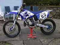 Yamaha YZ 125 2009 motocross racing motorcycle