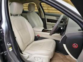 Jaguar XF 3.0d V6 Portfolio 4dr Auto STUNNING EXAMPLE (lunar grey metallic) 2011
