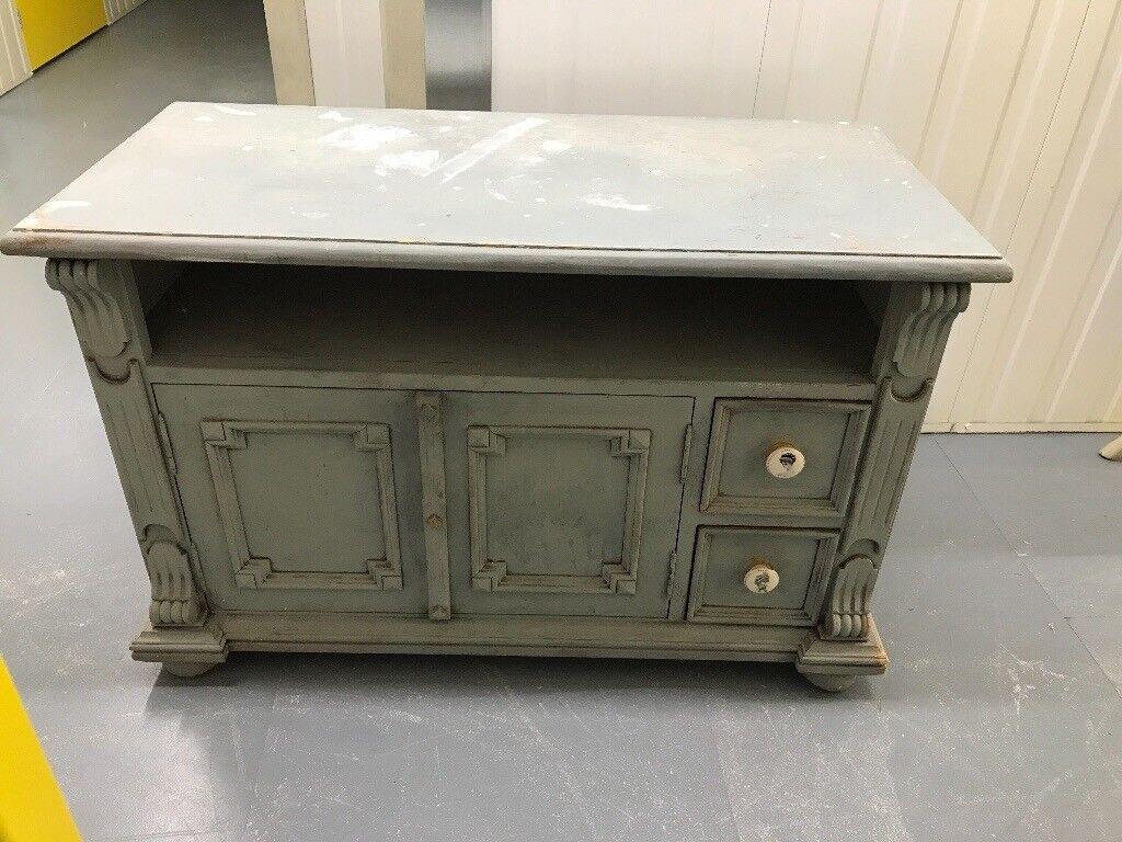 TV Cabinet - shabby chic/UPCYCLING PROJECT