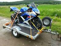 Motor bike or quad trailer
