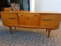Retro Vintage teak 1970s sideboard
