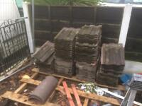 Concrete roof tiles (Marlow Ludlow Major)
