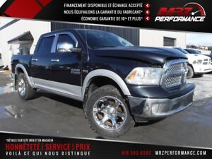 2013 Dodge Ram 1500 Laramie - V8 - FULL - Cuir - Toit - GPS - WO