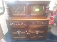 Vintage Dresser, court cabinet. L Marcus Ltd fine furniture