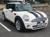MINI COOPER D 2009 (09 REG)*DIESEL*SERVICE HISTORY*LONG MOT*PEPPER WHITE*PX WELCOME*DELIVERY