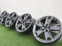 "17"" Audi A3 Sline wheels PCD 5x112 mint condition"